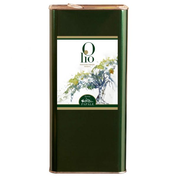 Sizilianisches Olivenöl im Blechkanister 1L
