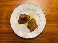 Gegrilltes Fleisch mit Salmoriglio_c