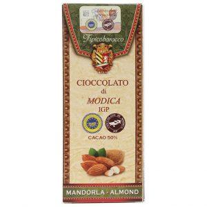 Modica Schokolade mit Mandeln
